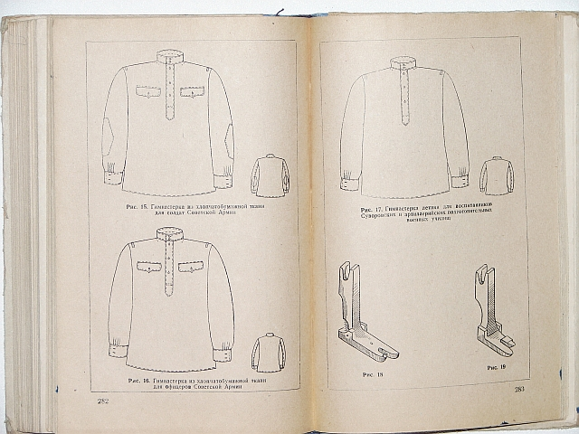 Типовые методы (технологические инструкции)Изготовления военной одежды( шинели, бушлаты, куртки ватные, кители и...
